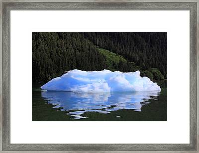 Reflections In The Sea Framed Print by Shoal Hollingsworth