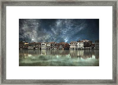 Reflections In Venice Framed Print