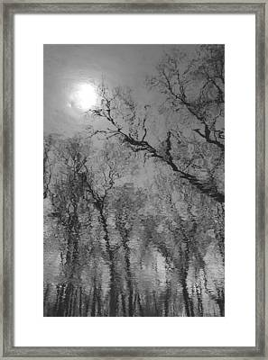 Reflections In Water Framed Print by Kathleen Scanlan