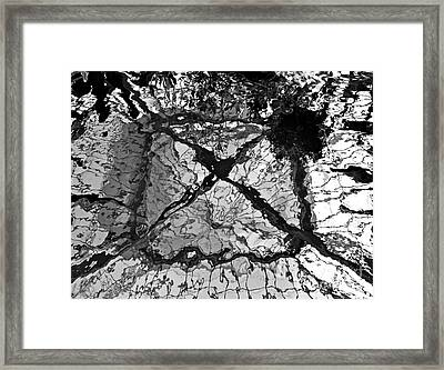 Framed Print featuring the photograph Reflections by Jay Nodianos