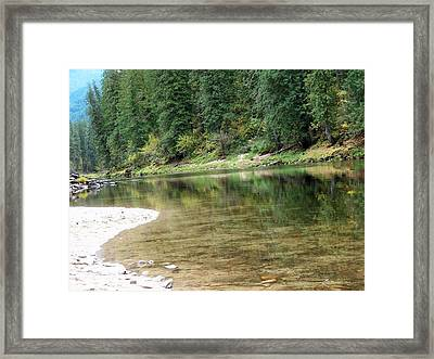 Reflections Framed Print by Jewel Hengen