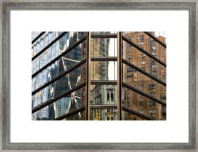 Reflections Framed Print by Joanna Madloch