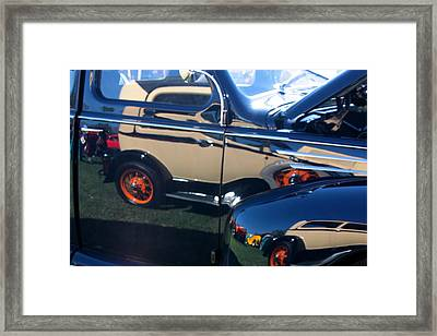 Framed Print featuring the photograph Reflections by Joe Kozlowski