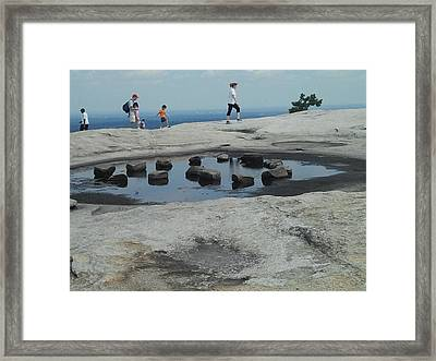 Reflections Framed Print by Julie Wilcox