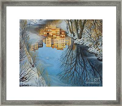 Reflections Framed Print by Kiril Stanchev