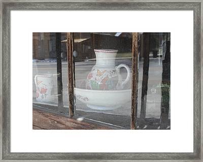 Reflections Framed Print by Mark Eisenbeil