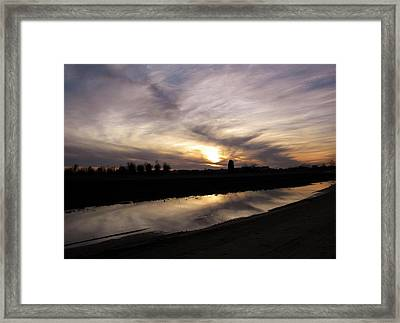 Reflections Framed Print by Matthew Seufer