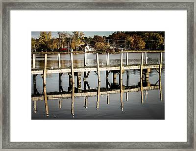 Reflections Framed Print by Michael Donovan
