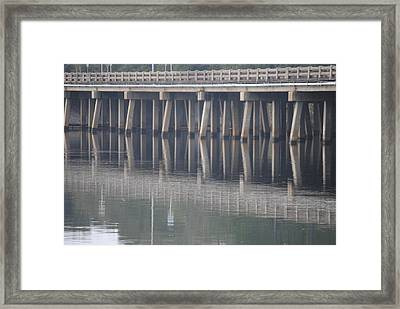 Framed Print featuring the photograph Reflections by Michele Kaiser
