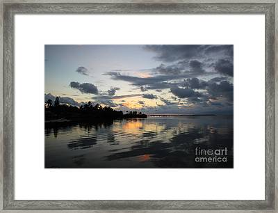 Reflections Framed Print by Michelle Wiarda