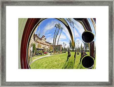 Reflections Of A 1937 Cord Framed Print