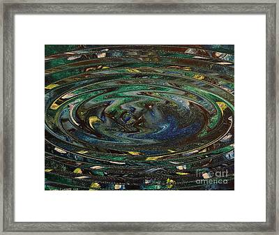 Reflections Of Christmas #3 Framed Print by Wayne Cantrell