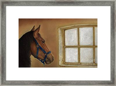 Reflections Of Days Gone By Framed Print by Sheryl Unwin