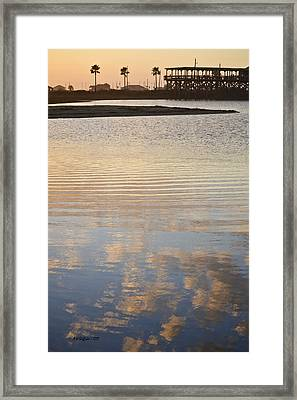 Reflections Of Dusk Framed Print