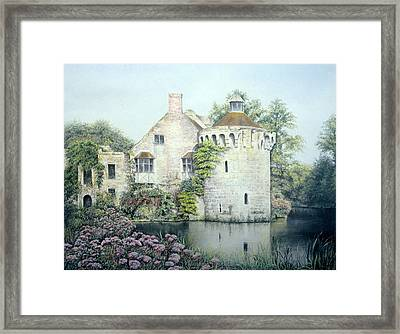 Framed Print featuring the painting Reflections Of England by Rosemary Colyer