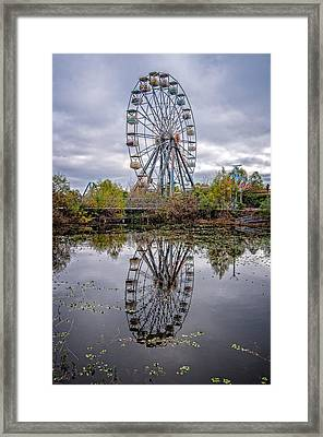 Reflections Of Fun Framed Print by Andy Crawford