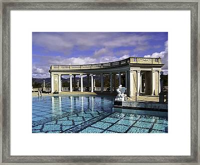 Reflections Of Glory Framed Print by Camille Lopez