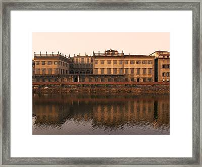Framed Print featuring the photograph Reflections Of Grandeur by Sandy Molinaro