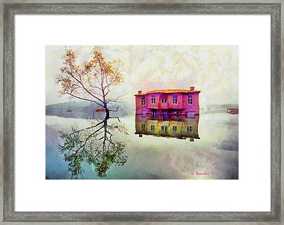 Reflections Of Illusions Framed Print by George Rossidis