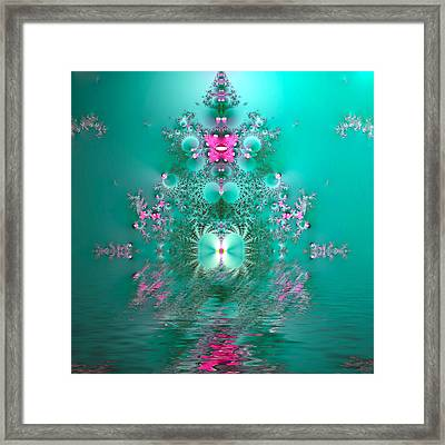 Reflections Of India Framed Print by Sharon Lisa Clarke