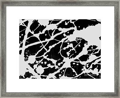 Reflections Of Ink Framed Print by Dave Atkins