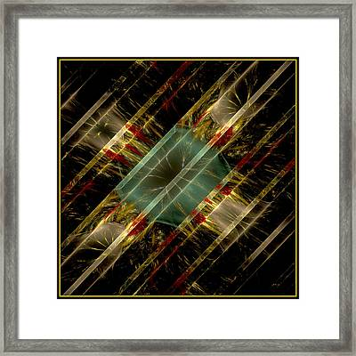 Framed Print featuring the digital art Reflections Of Life by Melissa Messick