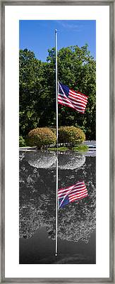 Reflections Of Lives Lost Framed Print
