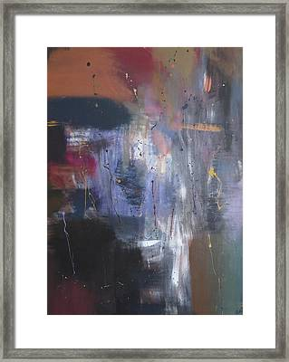 Reflections Of Me Framed Print