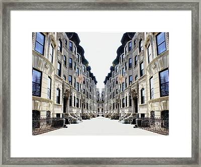 Reflections Of My Childhood Home Framed Print