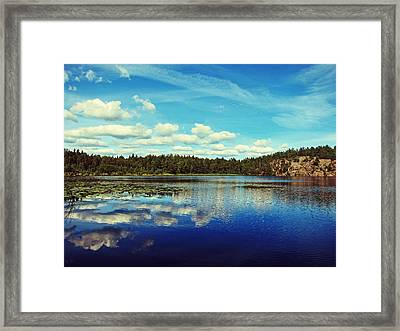 Reflections Of Nature Framed Print by Nicklas Gustafsson