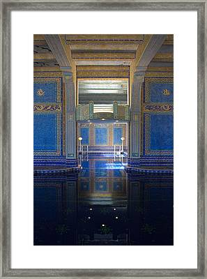 Reflections Of Opulence Framed Print by Heidi Smith
