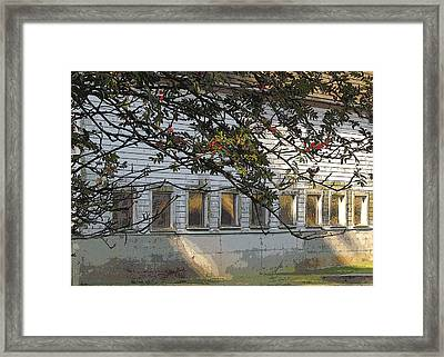Framed Print featuring the photograph Reflections Of The Day by I'ina Van Lawick