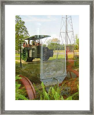Reflections Of The Past Framed Print by Kay Sparks