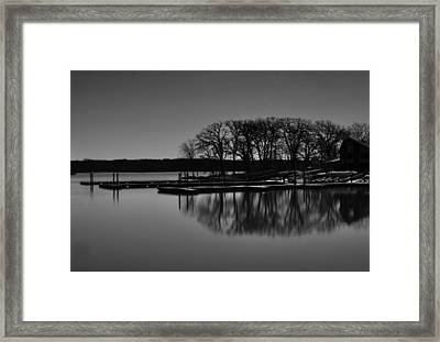 Framed Print featuring the photograph Reflections Of Water by Miguel Winterpacht