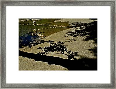 Reflections On A River Framed Print by Kirsten Giving