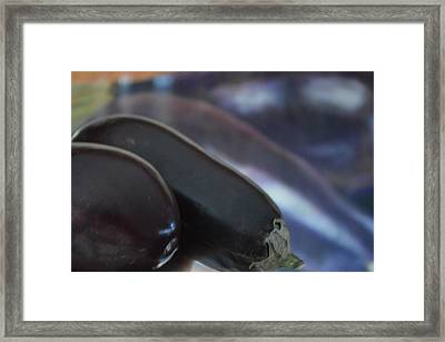 Reflections On An Ingredient Framed Print