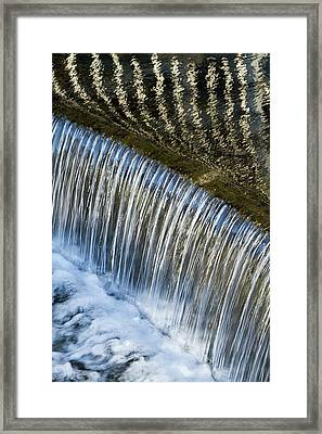 Reflections On Big Spring Canal Framed Print