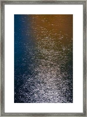 Framed Print featuring the photograph Reflections On Chicago River  73a7293 by David Orias