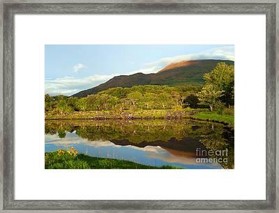 Reflections On Loch Etive Framed Print