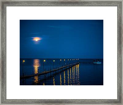 Reflections On Mille Lacs Framed Print