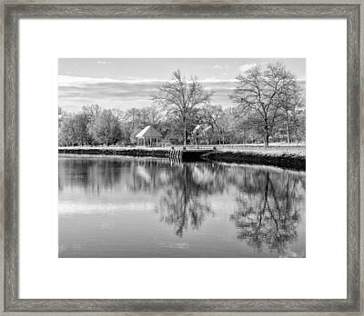 Reflections On Thanksgiving Framed Print