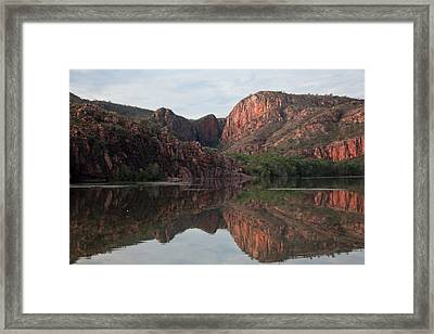 Reflections On The Ord Framed Print