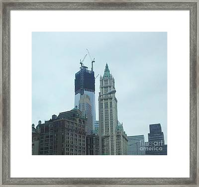 Reflections Framed Print by Polly Anna