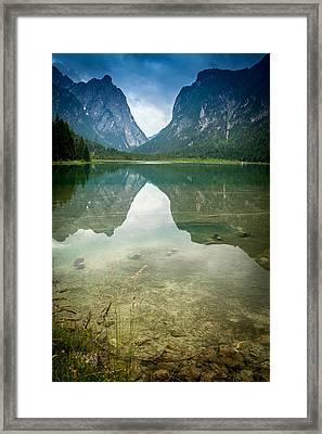 Reflections Pt 2 Framed Print