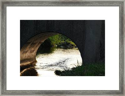Framed Print featuring the photograph Reflections by Ramona Whiteaker