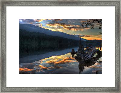 Reflections Framed Print by Randy Hall