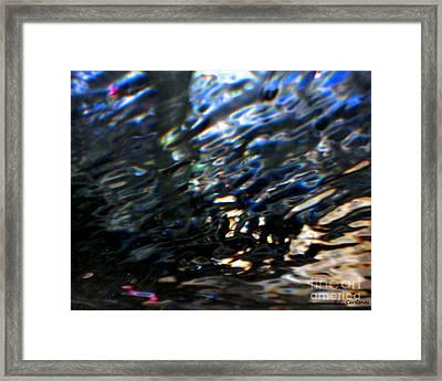 Reflections Framed Print by Rebecca Christine Cardenas