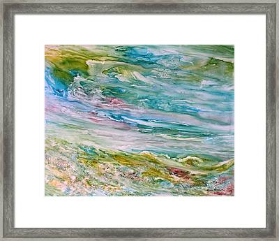 Reflections Framed Print by Rosie Brown