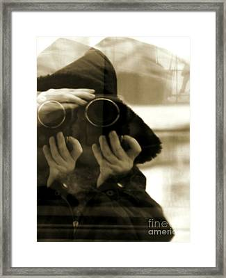 Reflections - Self Portrait Framed Print by Robyn King