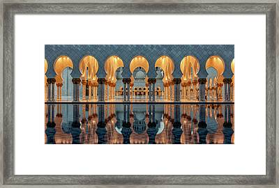 Reflections Framed Print by Stefan Schilbe